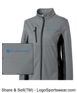 Ladies Narvik Colorblock Softshell Design Zoom